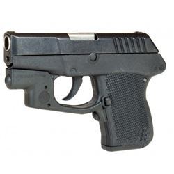 Kel-Tec P-3AT .380 ACP 6 Round Pistol with Crimson Trace Laser