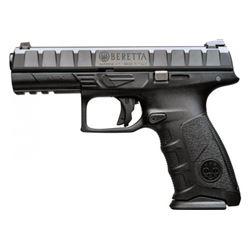 """BERETTA APX 9MM  4.25""""BRL  17-SHOT BLACK NEW IN BOX"""