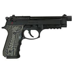 GIRSAN REGARD 9MM ADJ SGT. 18-SHOT BLACK THREADED BARREL