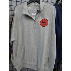 Worksport 1/4 Zip New Sweat Shirt Deer print 2XL