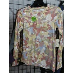 Canyon Guide New womens Camo Quiclk Dry Shirt Med