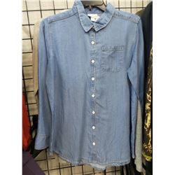 Cat & Jack New Girls Jean Shirt 14/16