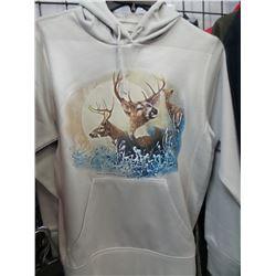 The Rock New Hoodie W/Deer  Medium