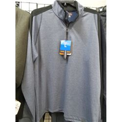 Hawkee Co New Quarter Zip Sweat Shirt Large