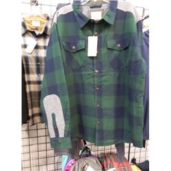 Legendary Whitetails New Flannel Quilted Shirt 2XL