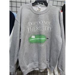 Gildan new Yoda Sweat Shirt Large