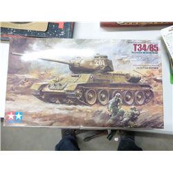 New Vintage Russian Tank Model