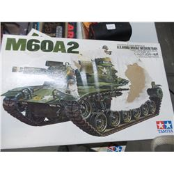 Vintage never opened Military tank model