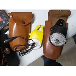Vintage Testo electrical amp testers