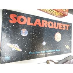 Vintage Solar Quest complete board game
