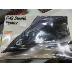 F-19 Stealth Fighter model new sealed
