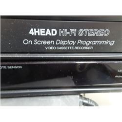 Memorex VHS player works