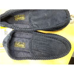 New men's corduroy house slippers size 9
