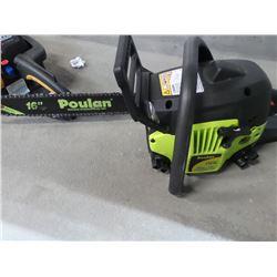 Poulan  38cc chainsaw 16 inch