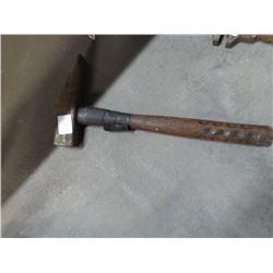 Vintage mason hammer