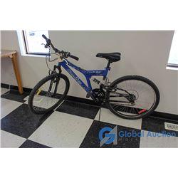 "26"" Men's Carrera Mountain Bike (Blue)"