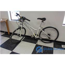 """28"""" Women's Nakamura Mountain Bike (White)"""