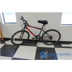"""26"""" Men's Movelo Mountain Bike (Black/Red/Blue)"""