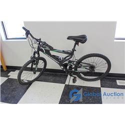 "24"" Men's Hyper Mountain Bike (Black)"