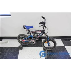 "14"" Juvenile Kid Cool BMX (Black)"
