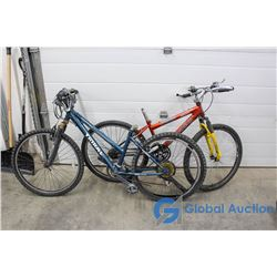 "26"" Women's Tribal Mountain Bike (Blue) & Men's Norco Mountain Bike (Orange)"