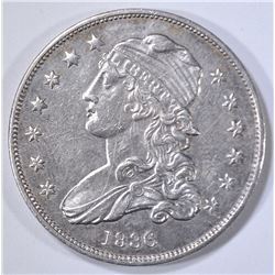 1836 BUST QUARTER, AU/BU