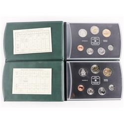 Group of (2) RCM Specimen Coin Sets: 1999 and 2000