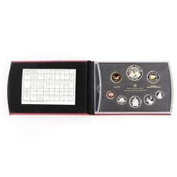 RCM 2011 Silver Proof Coin Set