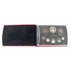 RCM 2006 Proof Coin Set, 8 Coins Silver Leather Ca