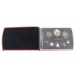 RCM 2005 Proof Coin Set, 8 Coins Silver Leather Ca