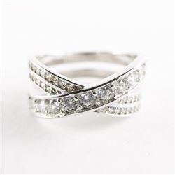 925 Silver Loveknot - Ring Size 6