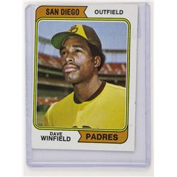 Padres Dove Winfield (KER) Card Rookie