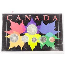 Canada Display 1967 Coins - Silver