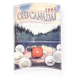 1998 OH Canada 7 Coin Set