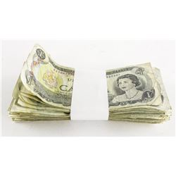 Estate Lot - Bundle Bank of Canada '100' x 1.00 No
