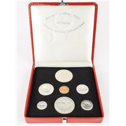 1867-1967 Silver Specimen Set with 925 Silver Meda