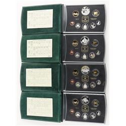 Group of (4) RCM Proof sets: 2000-2001-2002-2003