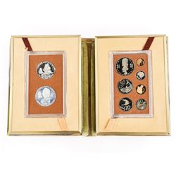 Estate 1973 Cook Islands Proof Set with Silver