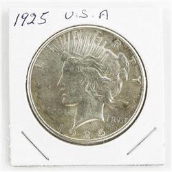 1925 USA Silver Dollar (GE)