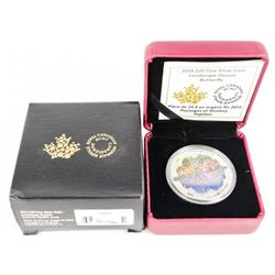.9999 Fine Silver $20.00 Coin 'Butterfly' LE/C.O.A