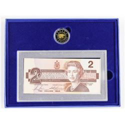 1996 Proof Coin and Bank Note Set (BRX)