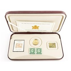 RCM 150th Anniversary 24kt Gold pLATED stamp Plus