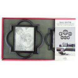 Wall Decor NEW Quatrefoil Wall Gallery 6-Photo Ope