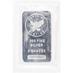 .999 Fine Silver Collector Bullion 5 ounces, Bar