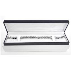 Gents 18/10 Stainless Steel Heavy Link Bracelet