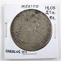 Estate Mexico 1804 M.T.H. 8R Carolus III
