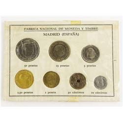 Estate 'MADRID' (ESPANA) Coin Set