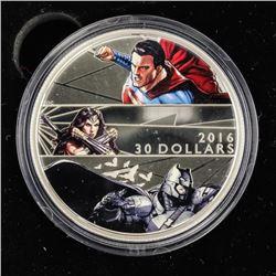 .9999 Fine Silver $30.00 Coin DC Comics 'Batman vs