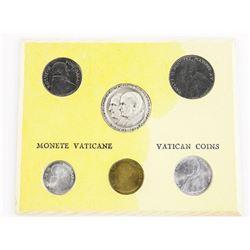 6pc Vatican Coin Set