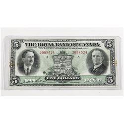 Royal Bank of Canada $5.